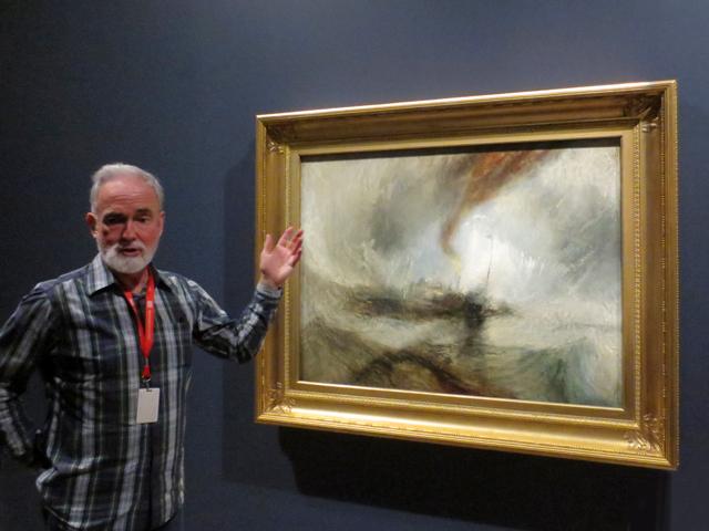 david-wistow-interpretive-planner-ago-discussing-jmw-turner-painting