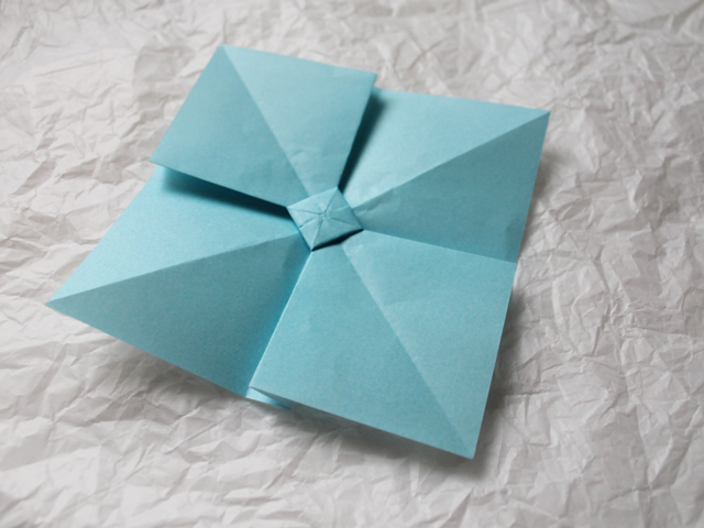 making-origami-bow