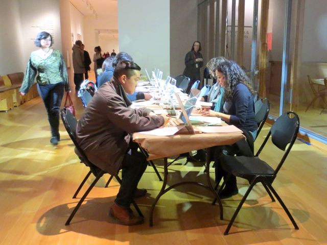 self-portrait-drawing-station-at-ago-friday-nights-event