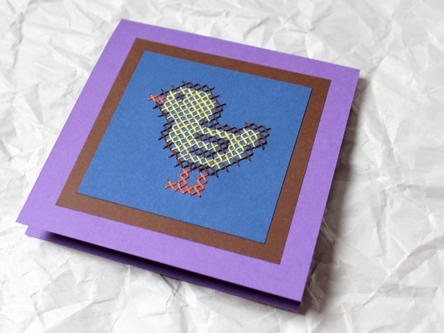 handmade-easter-card-cross-stitch-on-paper