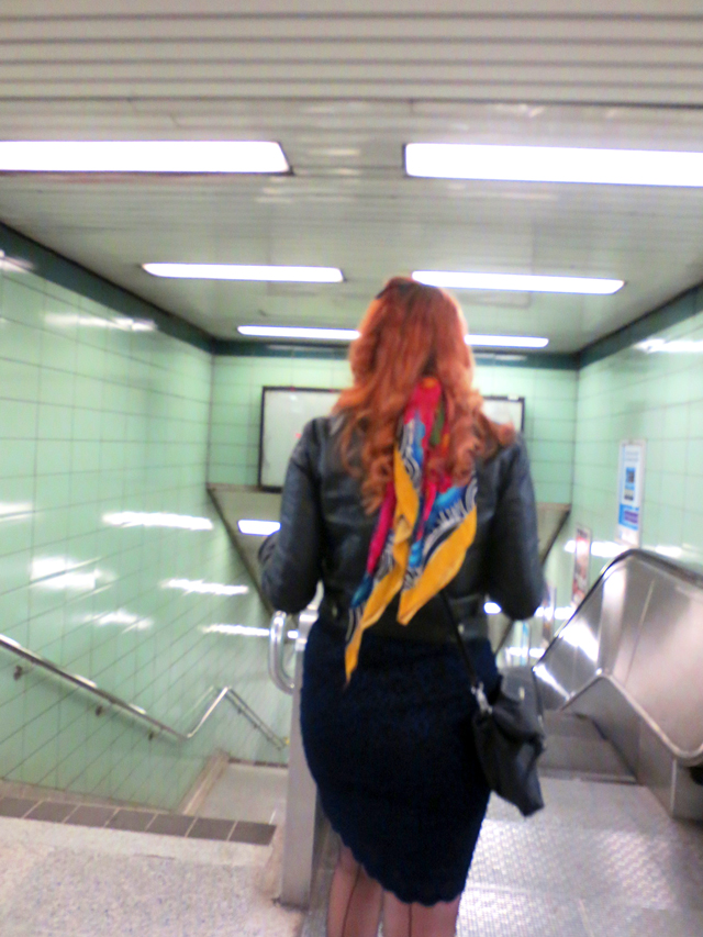 a-in-subway-station