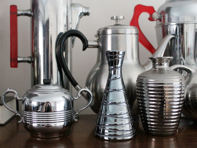 chrome-and-silver-tone-collection