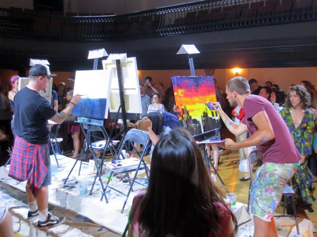 art-battle-live-competitive-painting