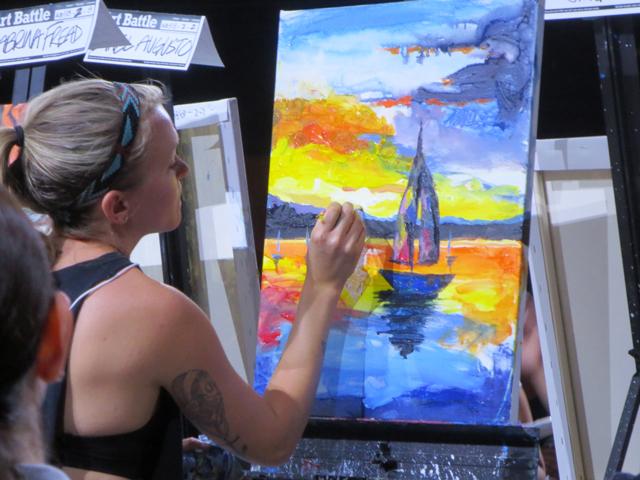 art-battle-painter