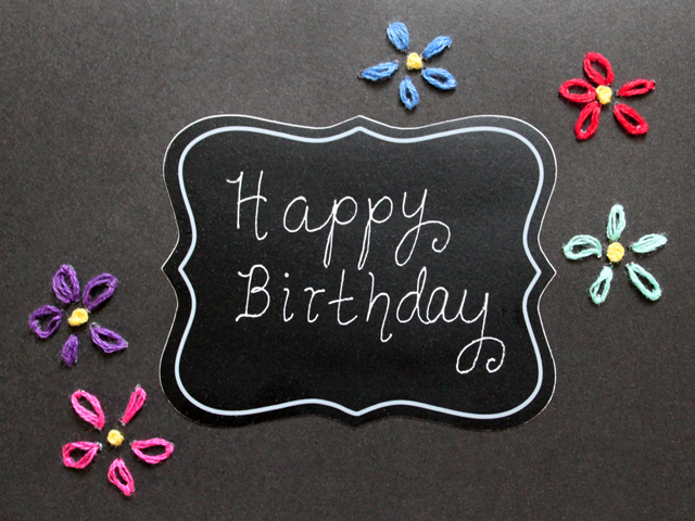 handmade-birthday-card-embroidery-on-paper