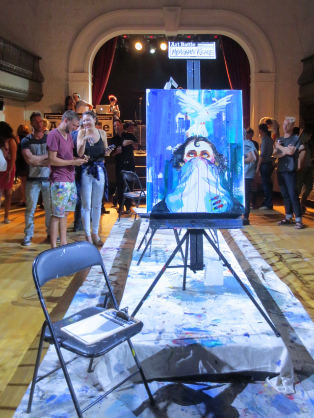 meaghan-kehoe-second-painting-art-battle-semi-finals-toronto
