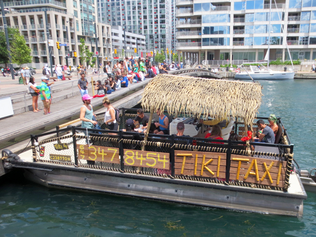 tiki-taxi-to-toronto-islands