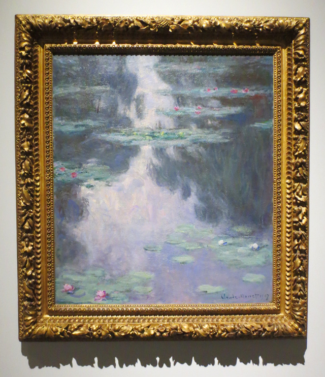 claude-monet-water-lilies-reflections-of-weeping-willows-on-display-at-ago-toronto-mystical-landscape-exhibition