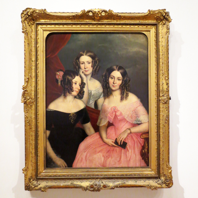 Painting Berthon The Three Robinson Sisters Giant Wall Canvas Art Print