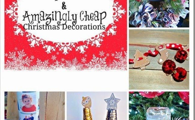 5 Super Cute And Amazingly Cheap Christmas Decorations