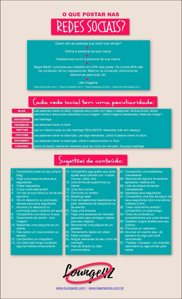 37 ideias de conteúdo para suas redes sociais + umas dicas