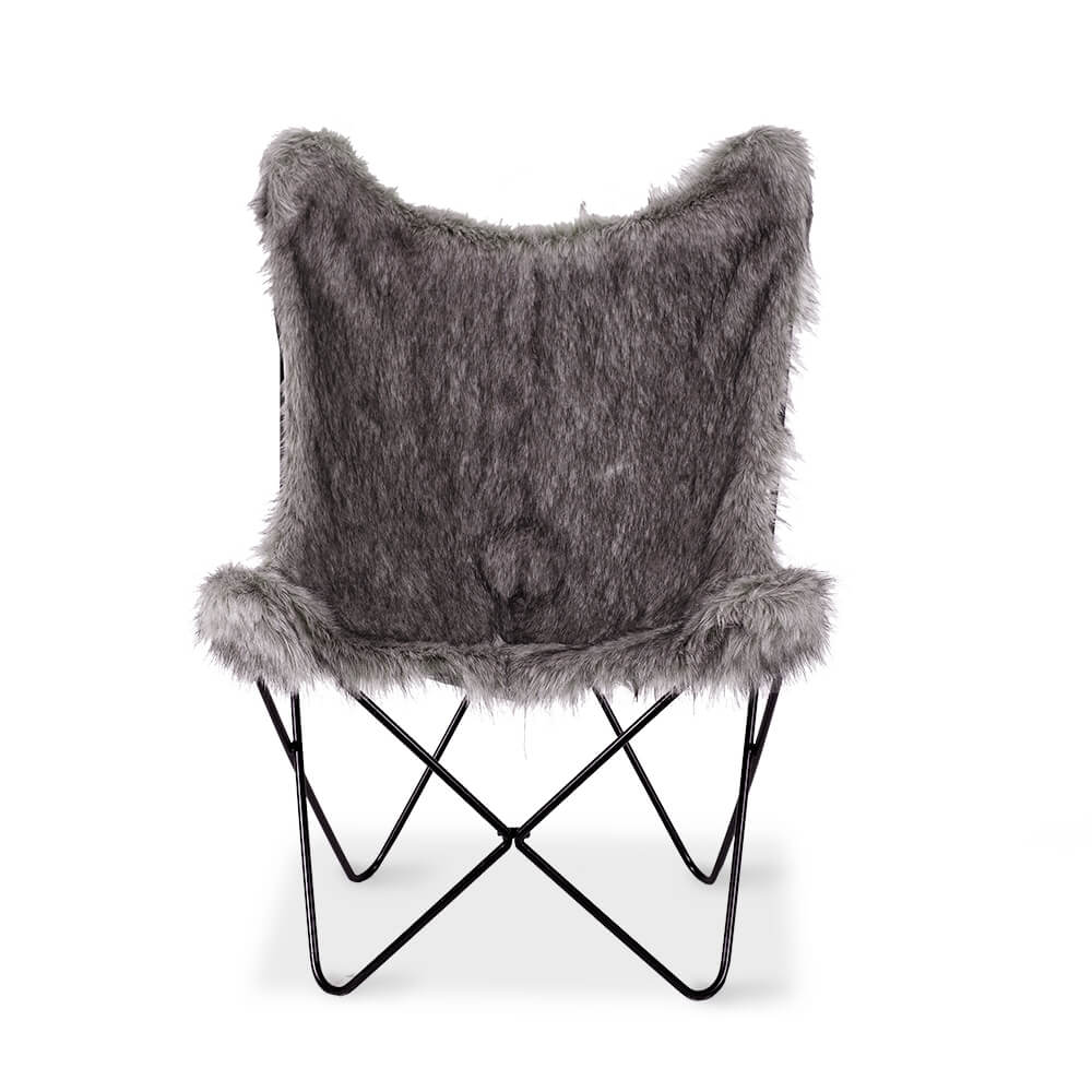 BUTTERFLY CHAIR MOGGY GREY  Lounge  Living