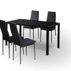 Tulip Table And Chairs Nz Raised Toilet Chair Rio Black 5pc Lounge Living
