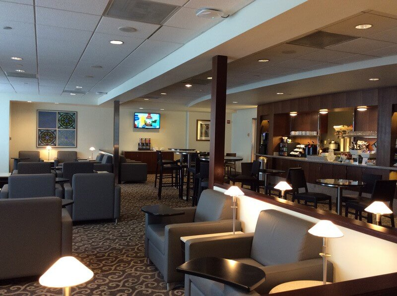 Lounge Review American Airlines Admirals Club  PHL A4