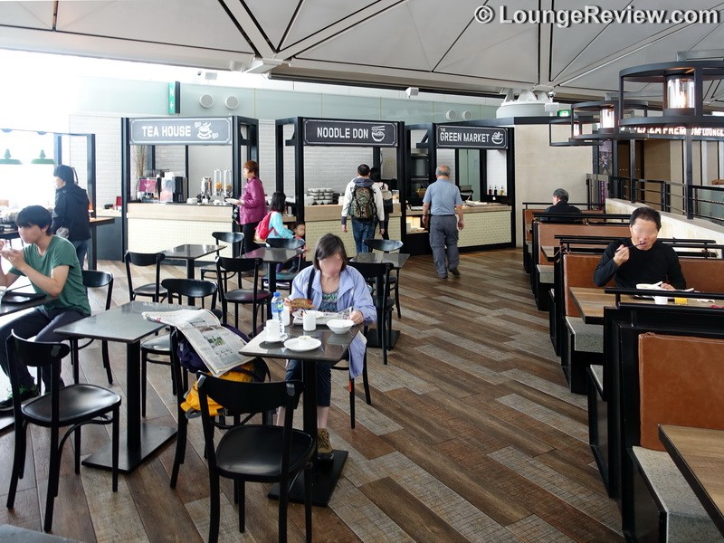 Lounge Review: Plaza Premium Lounge West Hall – HKG gate 40 – LoungeReview.com