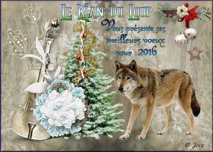 Meilleurs voeux lupins pour 2016
