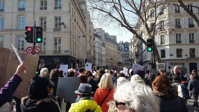 Manifestation du 12 mars 2016 à Paris POUR le Loup