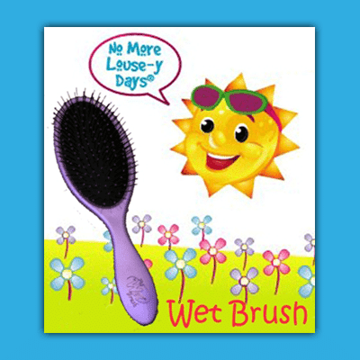 detangling wet brush affordable in home head lice removal