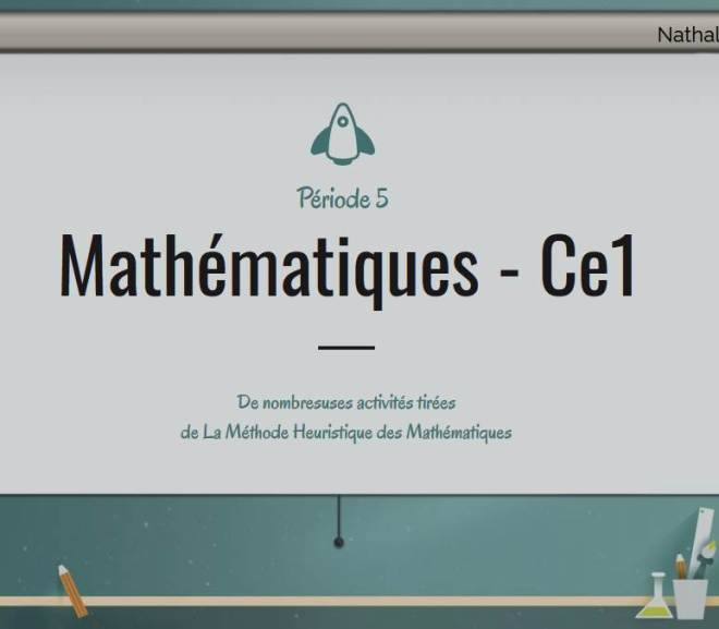 Mathématiques – ce1 – période 5