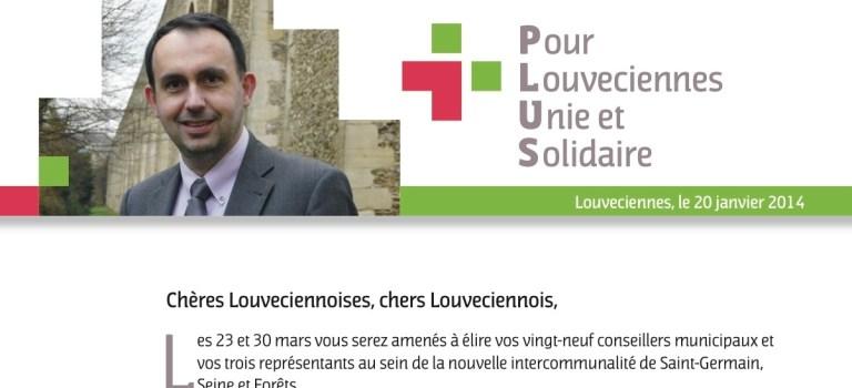 Lettre aux Louveciennois