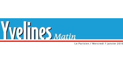 Le Parisien du 7 janvier : article sur la campagne électorale à Louveciennes