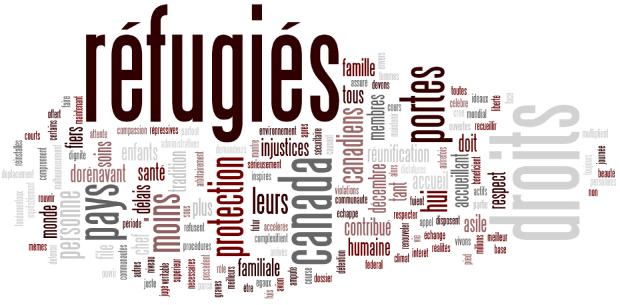 La question de l'accueil de réfugiés sur le site de Villevert
