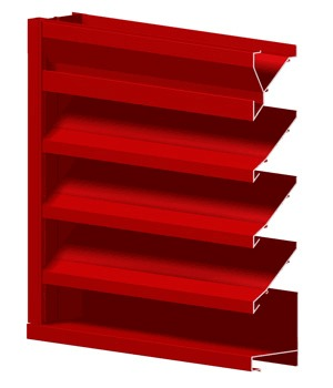 Extruded Non-Drainable Louvers