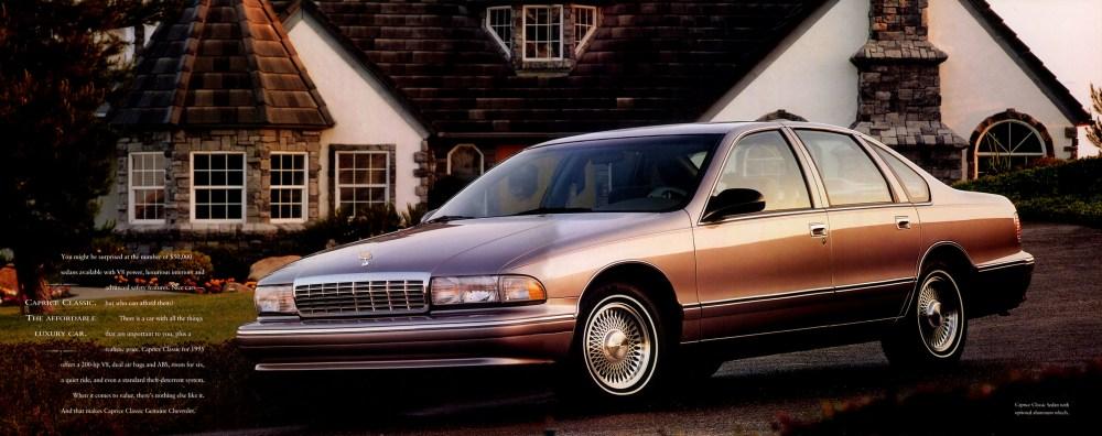 medium resolution of 1995 chevrolet caprice classic