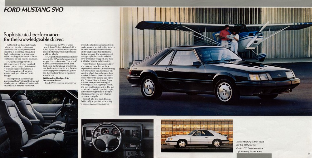 medium resolution of 10 1985 ford mustang svo car autos gallery 1984 mustang fuse box location