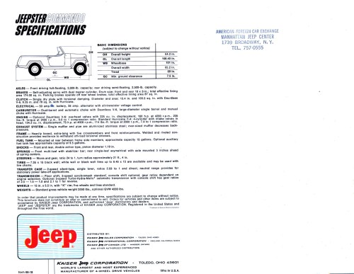small resolution of 1966 jeep jeepster commando