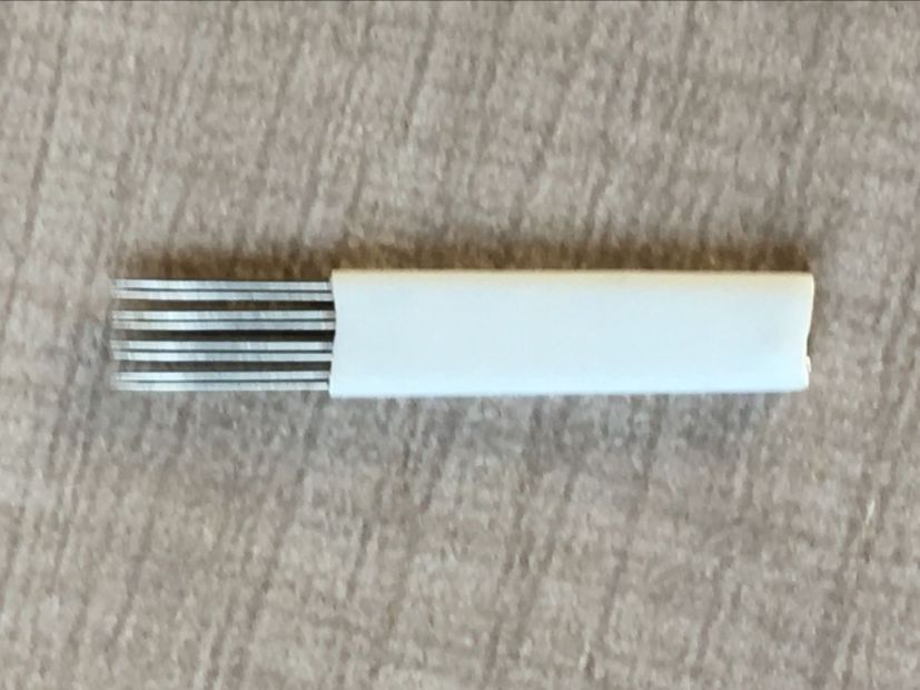 Eyebrow microbalding shading 3-round Quadruple needles