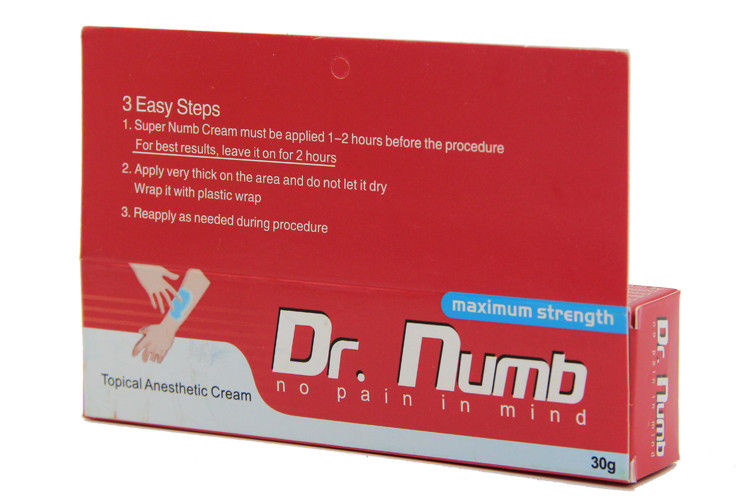 30Gr Dr Numb Pain Relief Tattoo Numbing Cream