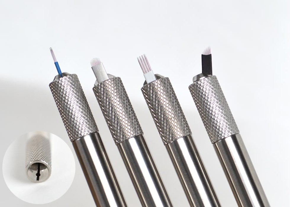 Multifuctional Universal Microblading pen Stainless Steel holder