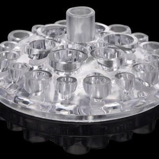Acrylic Tattoo Pigment Ink Cap Cup Oval Clear Holder stand
