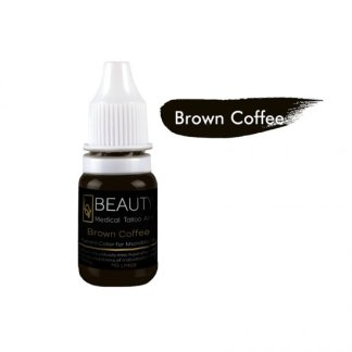 Medical Grade micro cream pigment for eyebrow Brown Coffee