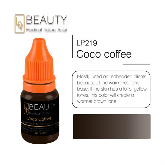 Microblading pigment for permanent makeup Coco Coffee