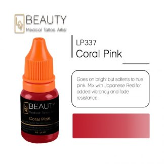 Microblading pigment for permanent makeup Coral Pink