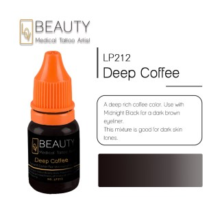 Microblading pigment for permanent makeup Deep coffee