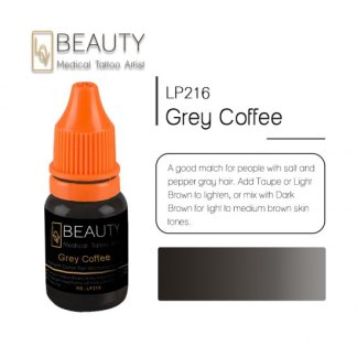 Microblading pigment for permanent makeup Grey coffee