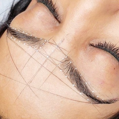 Microblading Mapping String For Eyebrow Design