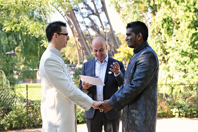 Love Gracefully gay and lesbian ceremony