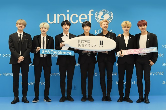 Image result for bts unicef
