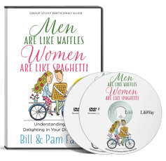 Men Are Like Waffles, Women Are Like Spaghetti Small Group Curriculum DVD