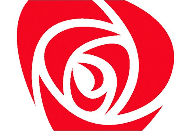 Arbeiderpartiets rose.