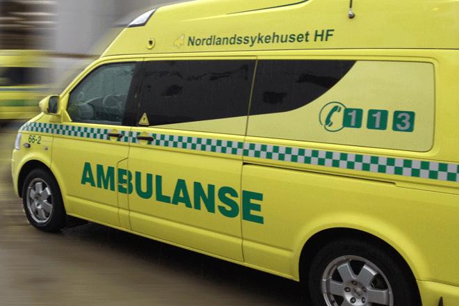 ambulanse nødetatene trafikkulykke