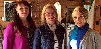 Camilla Bjørk, Siv Dagny Aasvik, Silvia Rehnlund , Rødgården