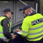 politi kontroll up bilbelte