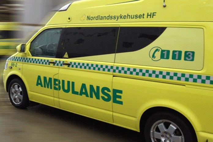 ambulanse ulykke utrykning sykehus