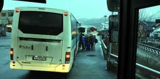 buss kollektivt holdeplass samferdsel rute