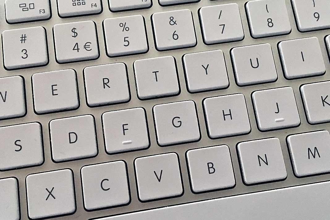 tastatur datamaskin mac skriving data bokstav setning